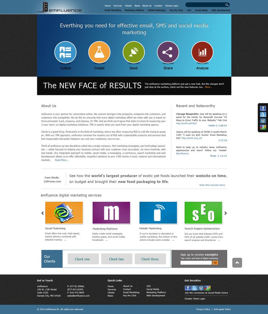 #26 for Website Design, Responsive, HTML5 by sudee1976