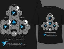 #3857 สำหรับ T-shirt Design Contest for Freelancer.com โดย lukeman12
