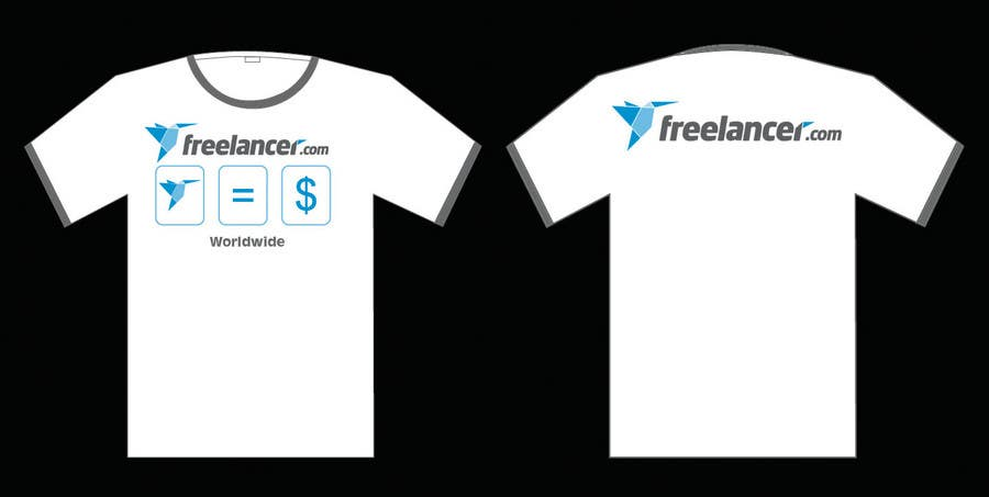 T-shirt Design Contest for Freelancer.com 콘테스트 응모작 #4481