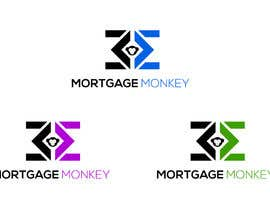 nº 11 pour Logo for Mortgage Referral company called Mortgage Monkey par Steev07