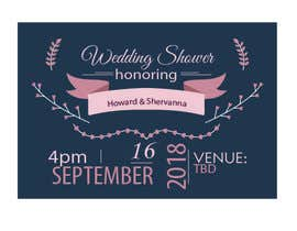 #14 for Wedding Shower and Bachelorette shower invite af dmateen