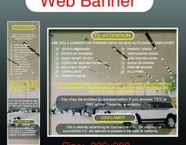 #47 para Design a Banner for law firm por Rajib024