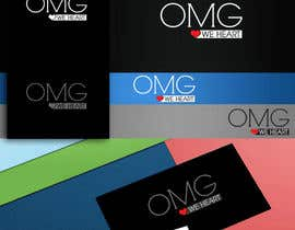 nº 93 pour Logo Design for new Company name: OMG We Heart.  Website: www.omgweheart.com par paritoshbharti29