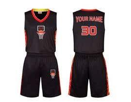 nº 15 pour Basketball jersey par FORHAD018