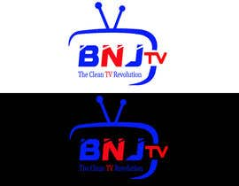 #58 untuk BNJ TV Logo Creation News Channel oleh ABODesign11