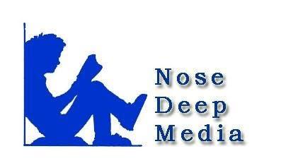 Kilpailutyö #                                        196                                      kilpailussa                                         Logo Design for eBook company Nose Deep Media