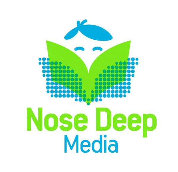 #146 for Logo Design for eBook company Nose Deep Media by bdrahas