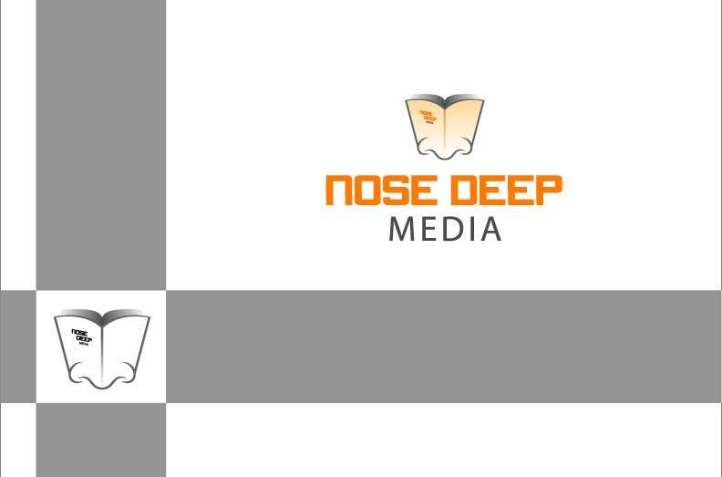 Kilpailutyö #                                        141                                      kilpailussa                                         Logo Design for eBook company Nose Deep Media