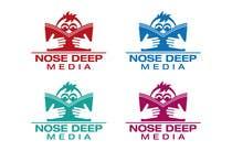 Graphic Design Kilpailutyö #132 kilpailuun Logo Design for eBook company Nose Deep Media