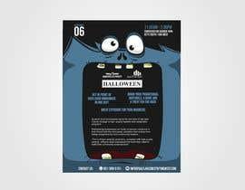 Nro 2 kilpailuun Design a Flyer for Halloween Sponsorships käyttäjältä hectorver