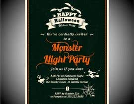 Nro 21 kilpailuun Design a Flyer for Halloween Sponsorships käyttäjältä jubayerkhanab