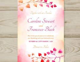 #36 pёr Wedding Invitation nga SURESHKATRIYA