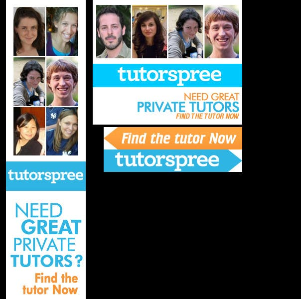 Contest Entry #                                        76                                      for                                         Banner Ad Design for www.tutorspree.com