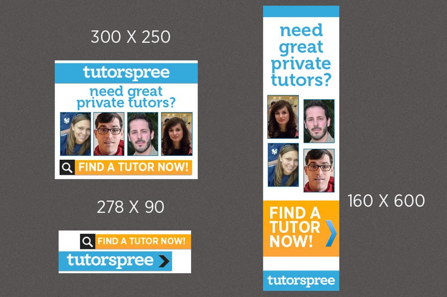 Contest Entry #                                        4                                      for                                         Banner Ad Design for www.tutorspree.com