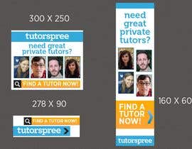 #4 para Banner Ad Design for www.tutorspree.com de firethreedesigns