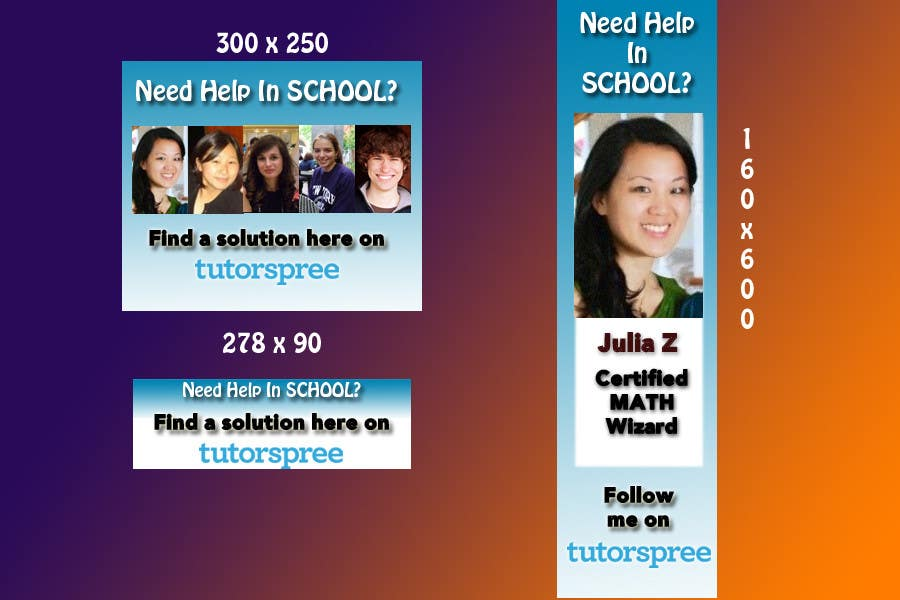 Contest Entry #                                        71                                      for                                         Banner Ad Design for www.tutorspree.com