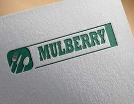 #1 for A chic, simple logo designed for a restaurant. Use a metallic and a Matt colour mix. Mulberry shares its name with a luxury clothing brand- must not imitate them. Mulberry is a middle eastern white berry grown in a tree. Food of the silk worm. af AleeRaza514