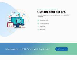 Nro 59 kilpailuun Design a Website Mockup - Great Rough Draft/Content Ready! käyttäjältä Bkmraj