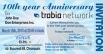 Graphic Design Contest Entry #53 for Corporate Party Invitation Design for 10th anniversary