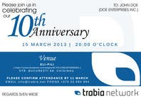 Photography Contest Entry #55 for Corporate Party Invitation Design for 10th anniversary
