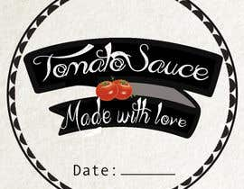 "#9 for 2.5"" round labels for Homemade Tomato Suace in a jar af Shamz82"