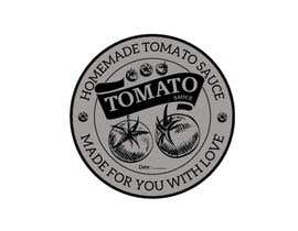 "#11 for 2.5"" round labels for Homemade Tomato Suace in a jar af NicholasPuri"