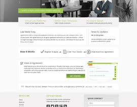 nº 2 pour Graphic redesign - FRONT PAGE and sub template - agreement24.com website par Pavithranmm
