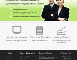 nº 1 pour Graphic redesign - FRONT PAGE and sub template - agreement24.com website par vigneshhc