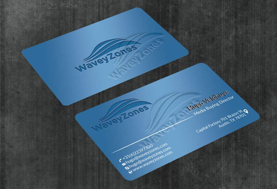 Entry 64 By Niyonbd For Create A Great Business Card For Us