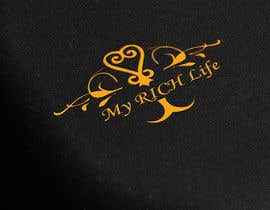 #23 untuk Design a Logo for My RICH Life oleh ahamediqbal1650