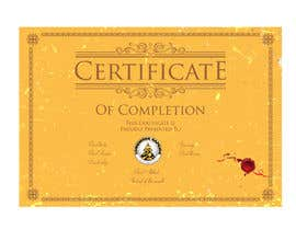 #24 for Design a Martial Arts rank certificate by NILESH38