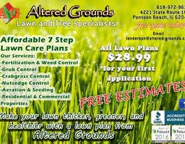 nº 14 pour Design a print ad for a lawn care business par ayeeauch