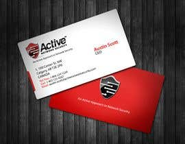 #30 untuk Business Card Design for Active Network Security.com oleh topcoder10