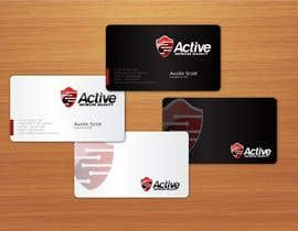 #59 dla Business Card Design for Active Network Security.com przez aries000