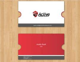 #29 dla Business Card Design for Active Network Security.com przez aries000
