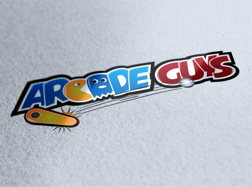 #191 for Logo Design for Arcade Guys by alinhd