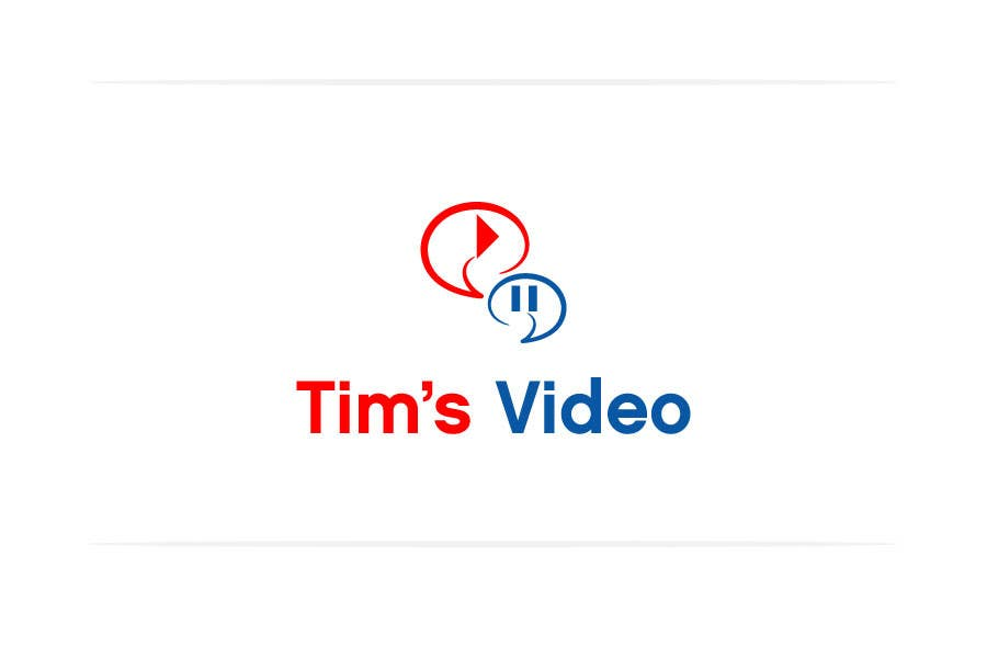 #540 for Logo design for Tim's Video by creativegurus
