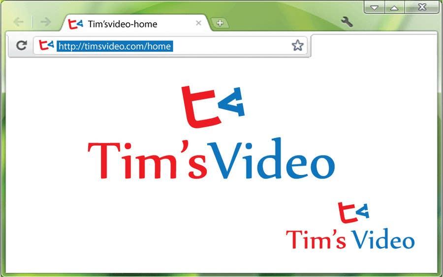 #394 for Logo design for Tim's Video by umamaheswararao3