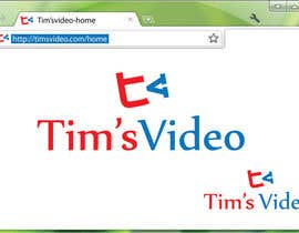 #394 untuk Logo design for Tim's Video oleh umamaheswararao3