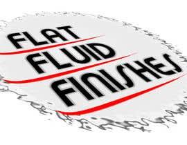 #9 untuk Design a Logo for Flat Fluid Finishes oleh havokzzx
