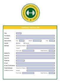 Hình ảnh của                             Form design in adobe acrobat PDF