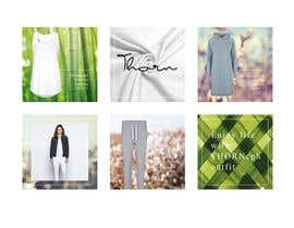 #29 untuk Create 6 or 9 social media images and content with a relaxed weekend loungewear theme oleh vw7311021vw
