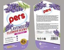 #3 для Adjust the current floor detergent Label for Lavender Flower Line (Purple Color) от PierreMarais