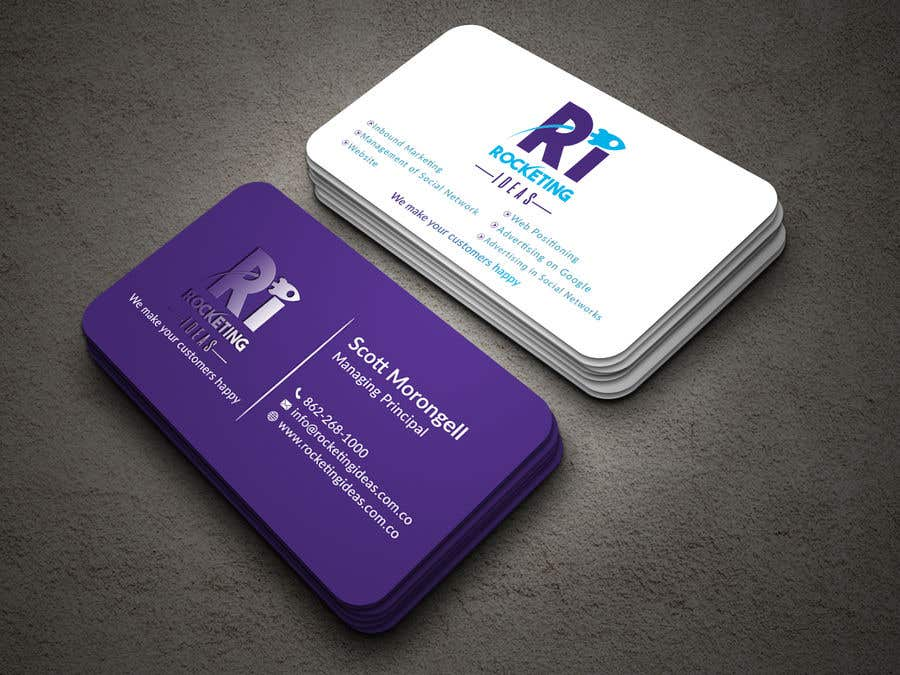 Entry 30 By Niyonbd For Business Card Design For A Digital