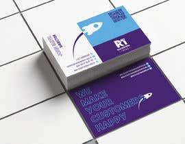 Nro 136 kilpailuun business card design for a digital marketing company! käyttäjältä HuntPatricia
