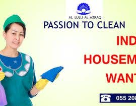 #8 untuk Advertisement for FB to hire Indian Housemaid oleh designcreative28