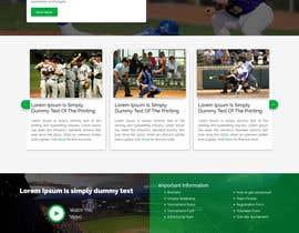 #30 για Simple wix.com sports-oriented not-for-profit website από webhazrat