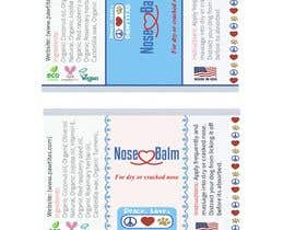 #14 for Design label for diferent organic natural dog balm for nose, paws and skin af rayssaslipknot
