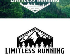 nº 12 pour Looking for a new logo for a running apparel company that specializes in shirts and hats. The company name is Limitless Running. The theme should revolve around nature and trail running. Pine trees, mountains, etc. par totemgraphics