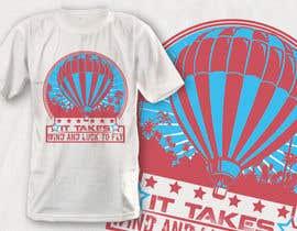 Nro 19 kilpailuun Hot Air Balloon Tshirt Design käyttäjältä robiulhossi